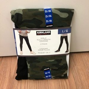 Kirkland | Girl's Full Length Leggings | 2 Pack
